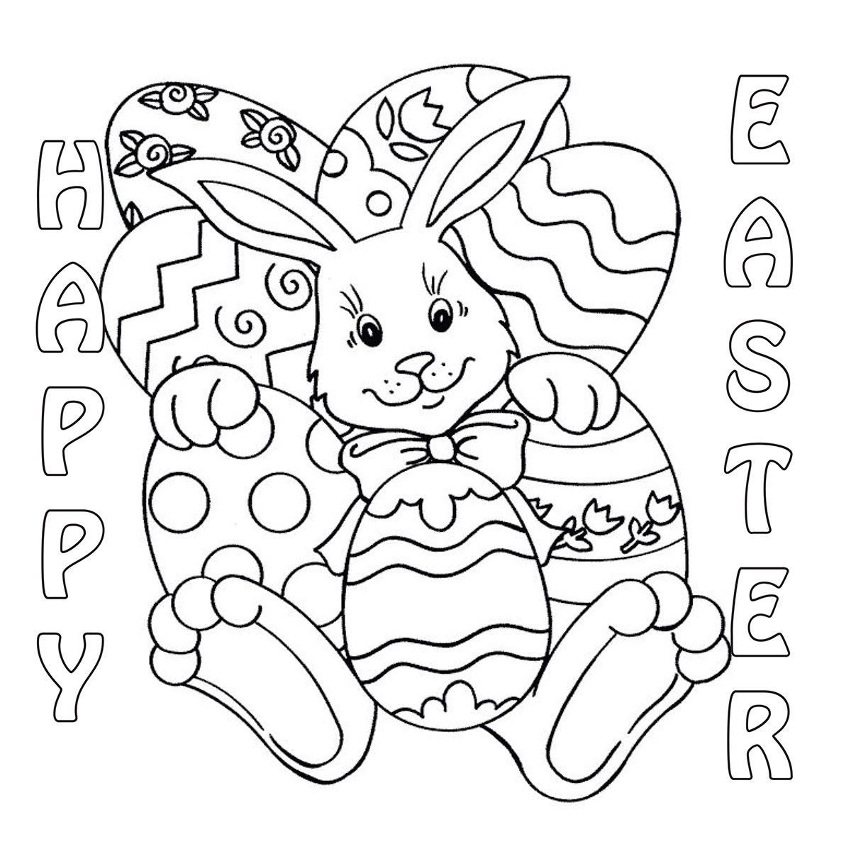 Easter Coloring Contest 2014 | Cedar Springs Post Newspaper