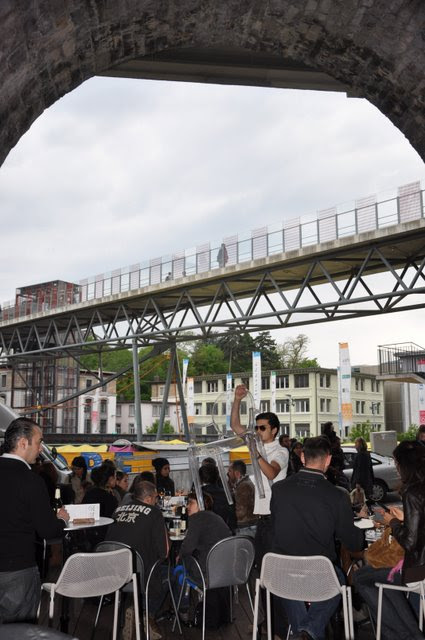 the Lausanne-Flon metro