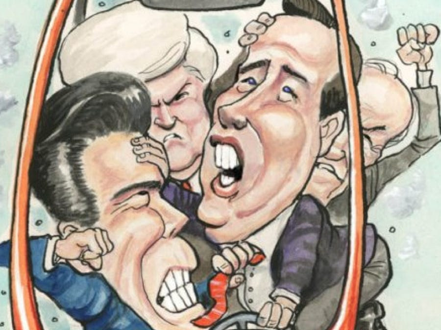 Image result for GOP hiding cartoon