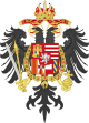 Middle Coat of Arms of Charles VI, Holy Roman Emperor.svg