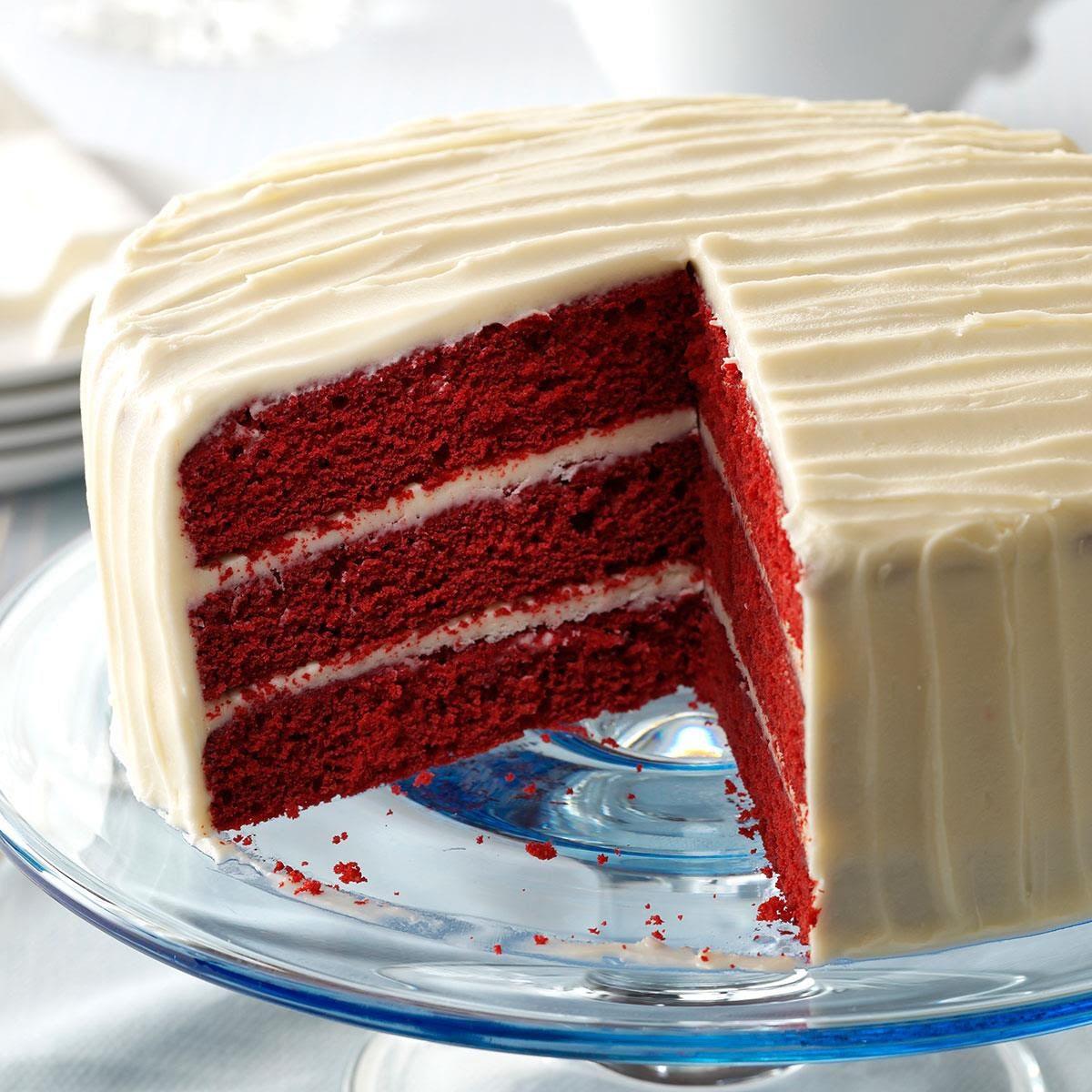 Classic Red Velvet Cake Recipe | Taste of Home