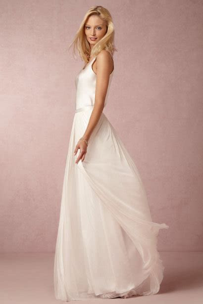 In Perpetuity Camisole Top & Anika Tulle Skirt in Bride
