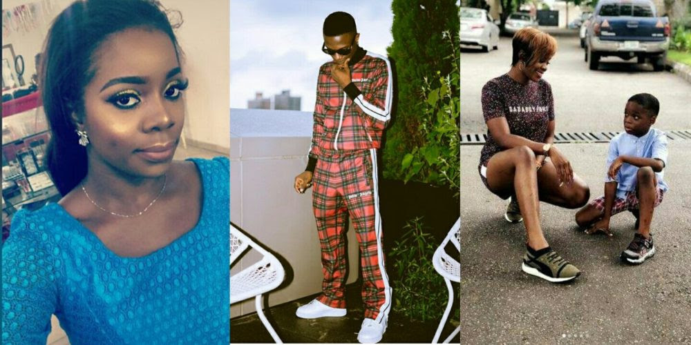 Image result for WIZKID's first baby mama and wizkid
