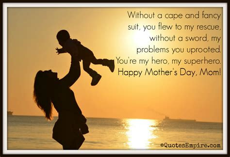 Mom You Are My Hero Quotes