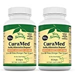 Terry Naturally CuraMed 750 mg (2 Pack) – 60 Softgels – Superior Absorption BCM-95 Curcumin Supplement, Promotes Healthy Inflammation Response – Non-GMO, Gluten-Free, Halal – 120 Total Servings