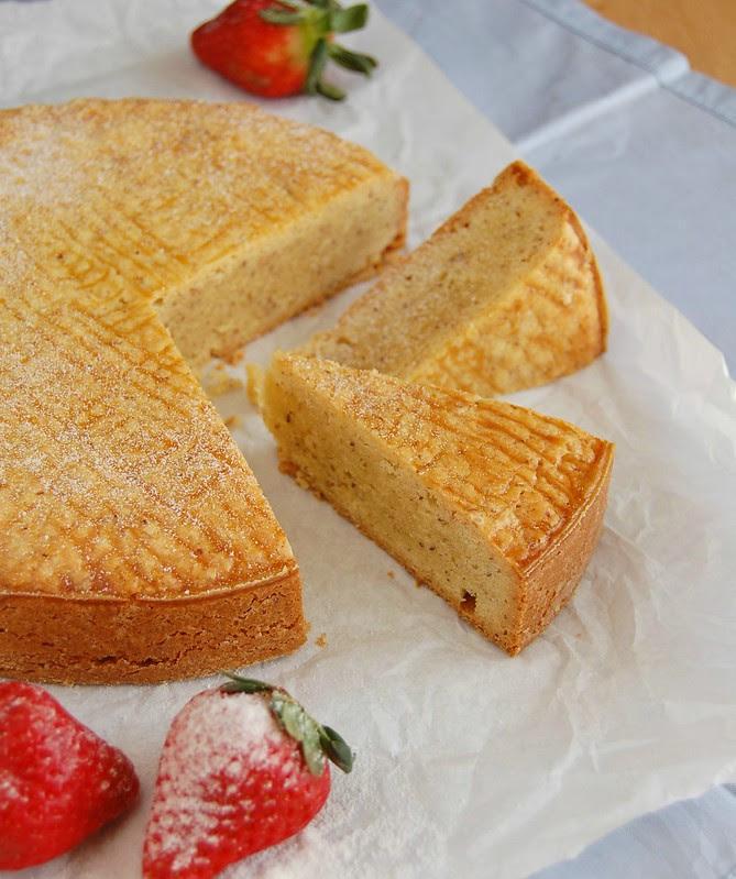 Hazelnut Gâteau Breton / Gâteau Breton de avelã