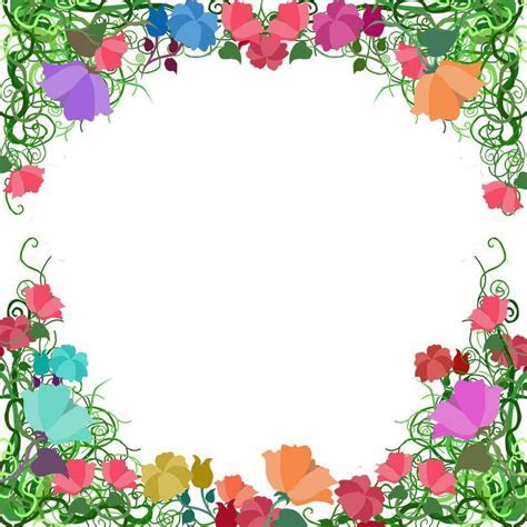 Free. Page Border Designs   Vine Border by ~ozaidesigns on