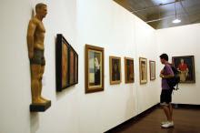 Peças da exposição fazem parte das pinacotecas Aldo Locatelli e Ruben Berta