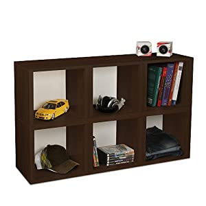 Amazon.com - Way Basics Eco Modular Stackable 6-cubby ...