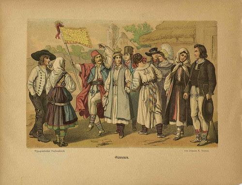 Oesterr-Ungarische Nationalitäten (Slovenen)