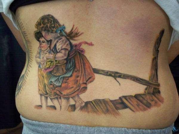 Guardian Angel Tattoo
