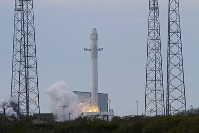 Falcon 9 CRS-2 launch