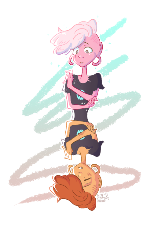 i'm very late on this but I really wanted to do a Lars Head piece ! so happy with how this turned out ehehe ; v ;
