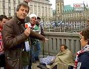 Il cronista spagnolo che ha umiliato il senza tetto ad  Amburgo