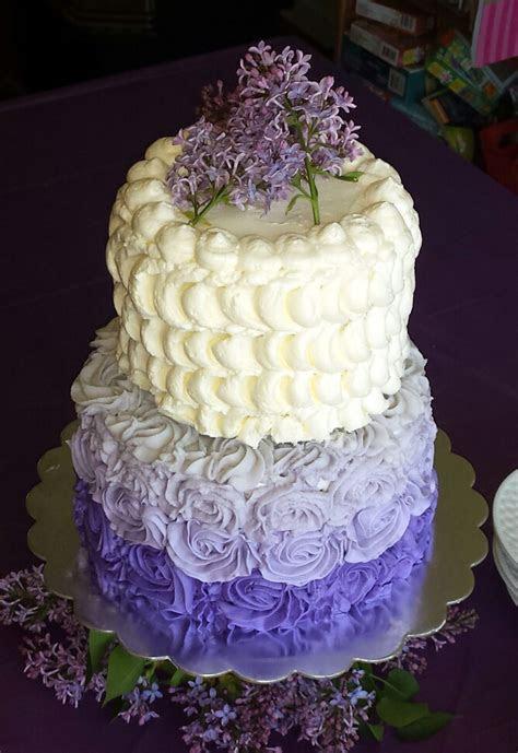 Lilac Lavender Birthday Cake Story   Kay Cake Designs