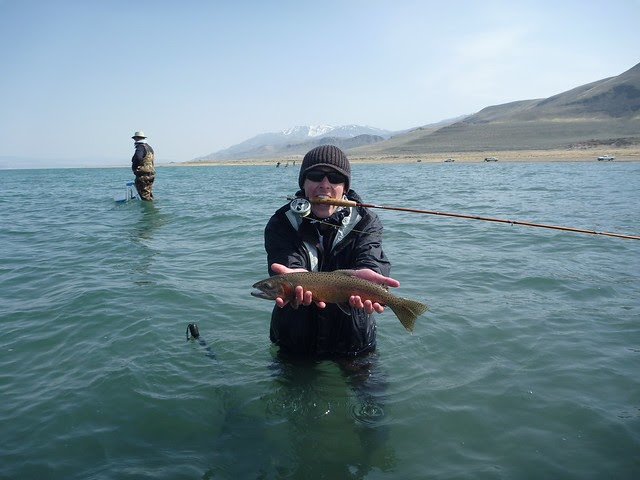 California fishing blog pyramid lake trip april 14 16 2011 for Freshwater fishing in southern california
