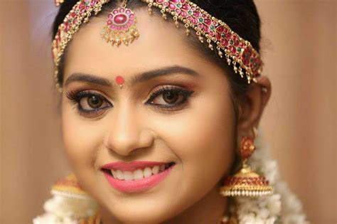 Best South Indian Bridal Makeup For Reception #