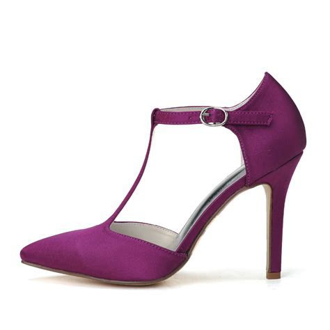 Dark Purple Heels For Wedding   Mad Heel