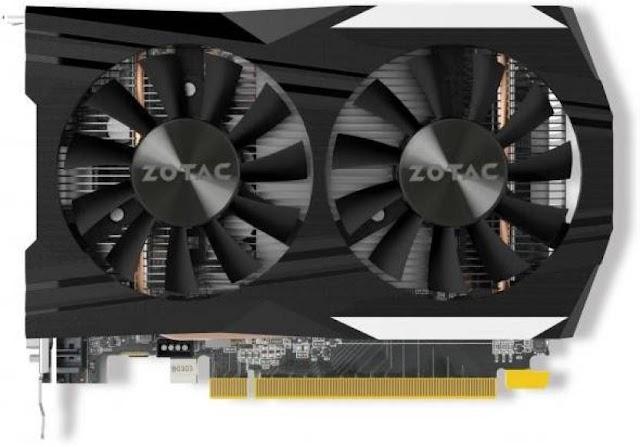 zotac NVIDIA GTX 1050 Ti 4 GB GDDR5 Graphics Card