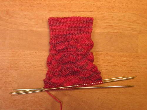 Red Monkey sock