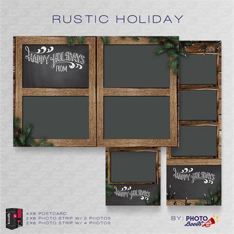 Rustic Holiday ? for Darkroom Booth   Photo Booth Talk