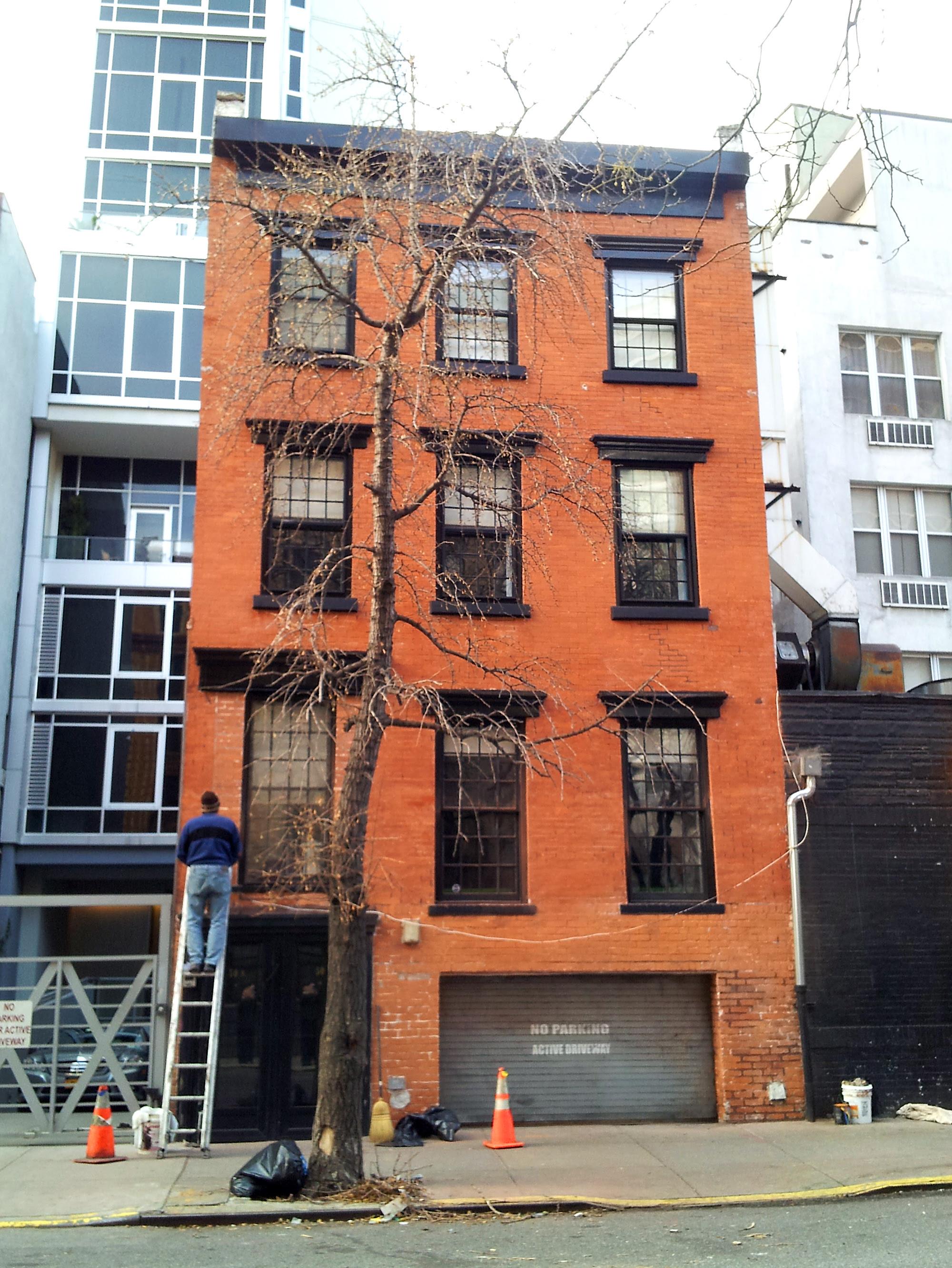 A clean facade