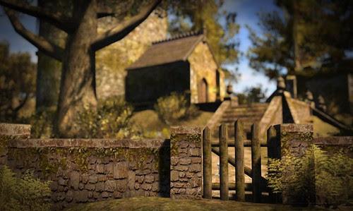 Where's Dim Sum? #151 - Little wooden gate