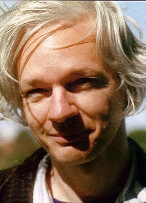 Julian Assange, photo