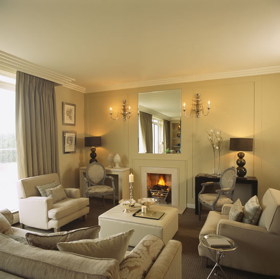 Interior Exterior Plan | Cosy setting for a living room