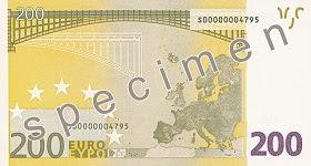 200 euron setelin takasivu