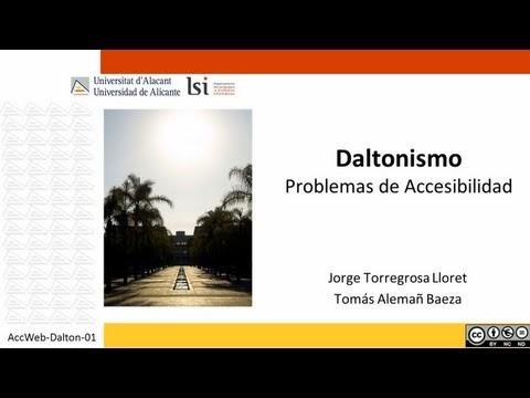 Accesibilidad en la Web: Qué es el daltonismo y algunos problemas