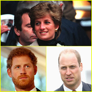 Princes William & Harry Hadn't Seen Princess Diana in Almost a Month When She Died