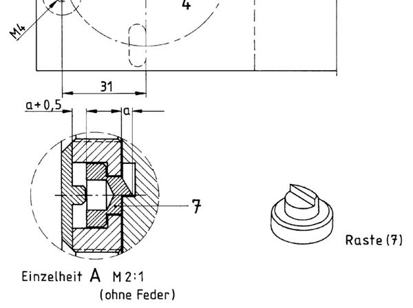 Schraubstock Bauplan