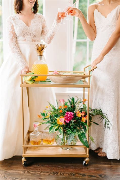 Colorful & Elegant Tropical Wedding Ideas   Every Last Detail