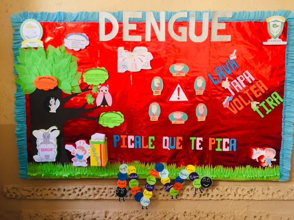Periodico Mural Prevencion Del Dengue Ceseeo