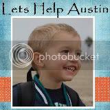 Austin's donation page