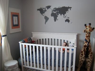 Baby Boy Nursery Ideas - Ideas for Decorating Boy Nursery Themes ...