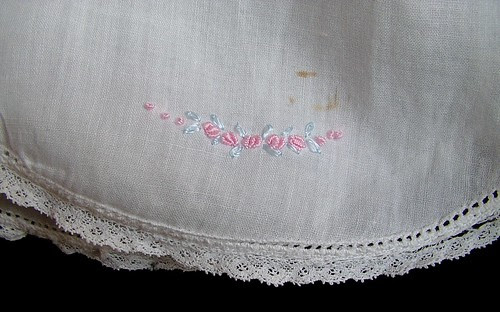 hem detail embroidery
