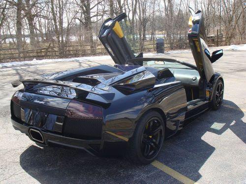 Sell Used 09 Lamborghini Murcielago Lp640 Roadster Black