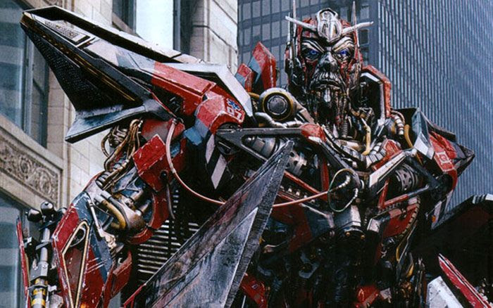 Sentinel Prime in TRANSFORMERS: DARK OF THE MOON.
