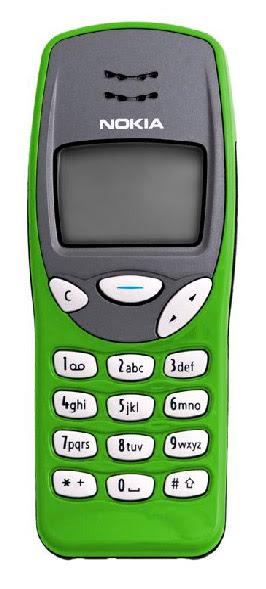 Nokia 3210 green