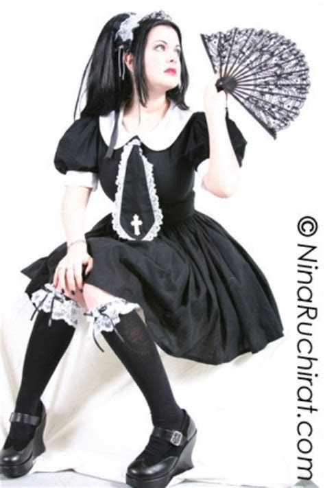 Gothic Lolita Dress Cute Schoolgirl Dress Gothic Lolita