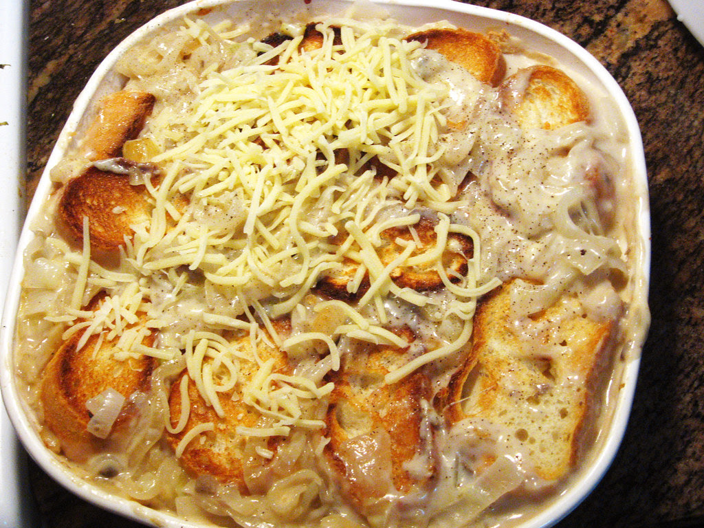 A Favorite Thanksgiving Dish: Cheesy Onion Casserole ...
