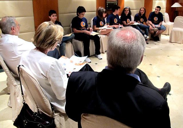 Rueda de prensa - Entrevistamos a miembros del Comité de los Derechos del Niño