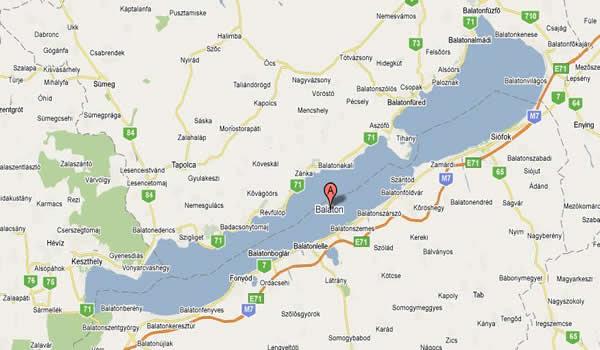 balaton térkép részletes északi part Balaton Térkép Részletes északi Part | Térkép