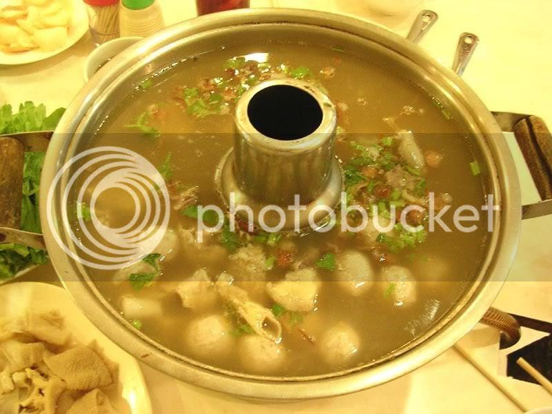 Jian Ji steamboat - Beef Soup