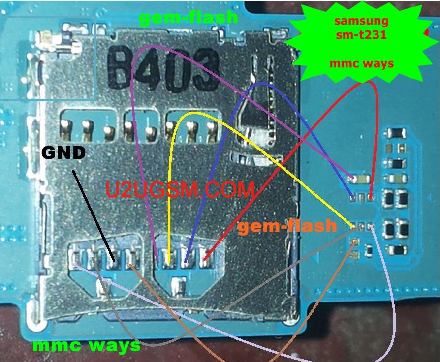 Samsung Galaxy Tab 4 SM- T231 Memory Card Not Working Problem