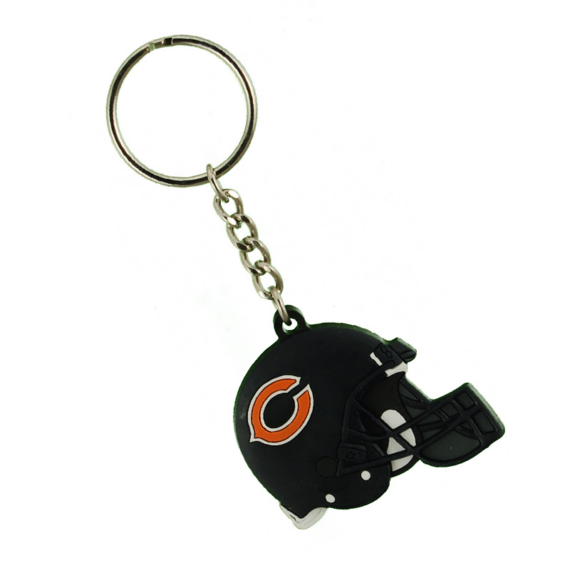 Chicago Bears NFL Helmet Keychain