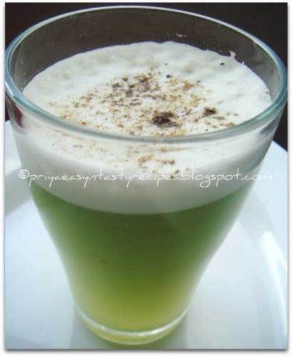 Bittergourd juice
