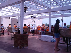 Vol Hall cookout